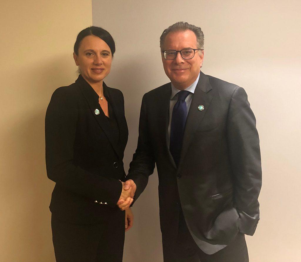 Συνάντηση με την Εκτελεστική Διευθύντρια της Ευρωπαϊκής Υπηρεσίας Υποστήριξης για το Άσυλο (EASO) κα Nina Gregori